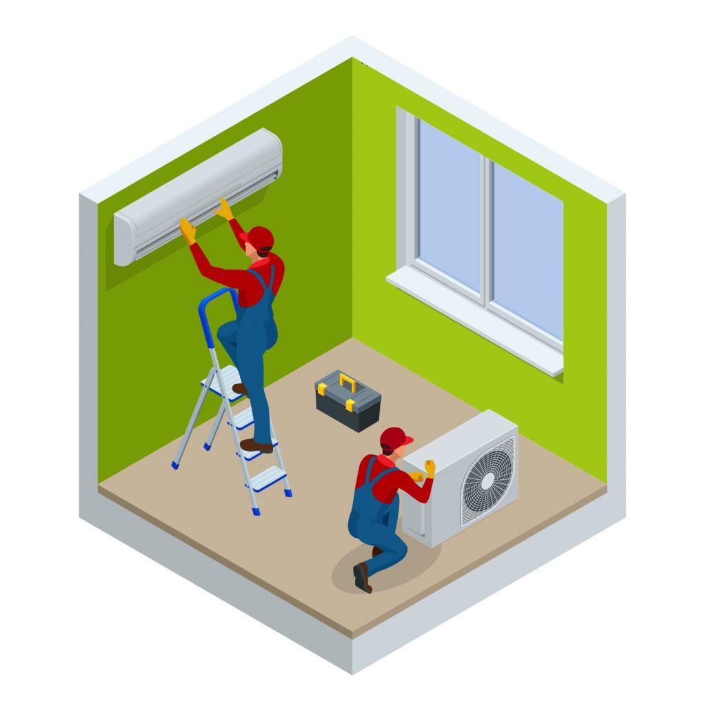 mini-split-air-source-heat-pump-space-conditioning